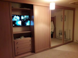 Four Camera CCTV HD -Fitted in Bedroom Unit 2.